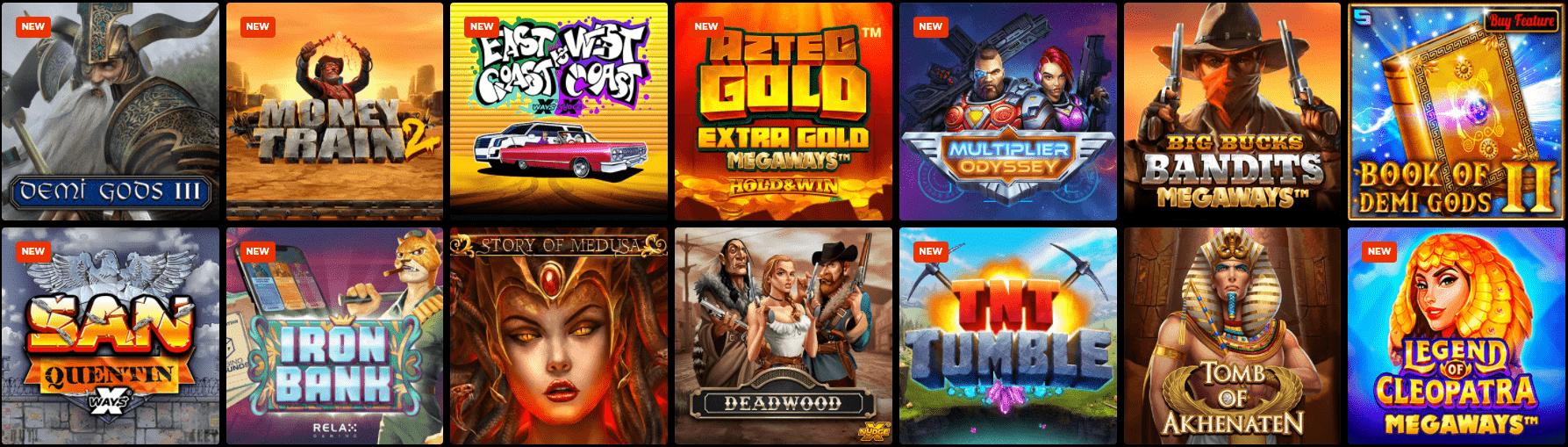 Spiele im N1 Casino