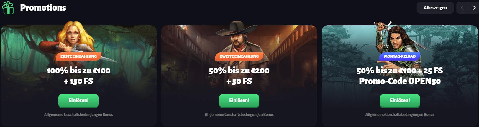Slothunter Casino Aktionen