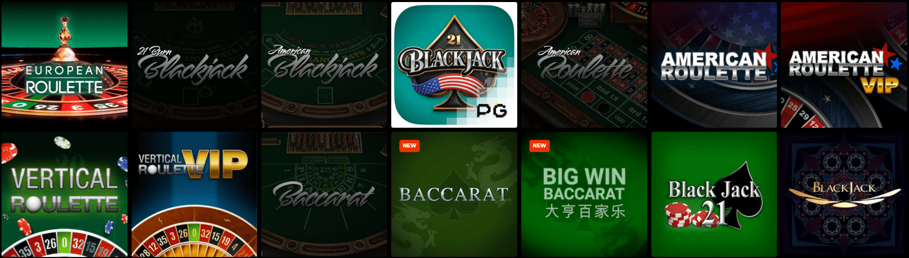Live-Spiele im N1 Casino