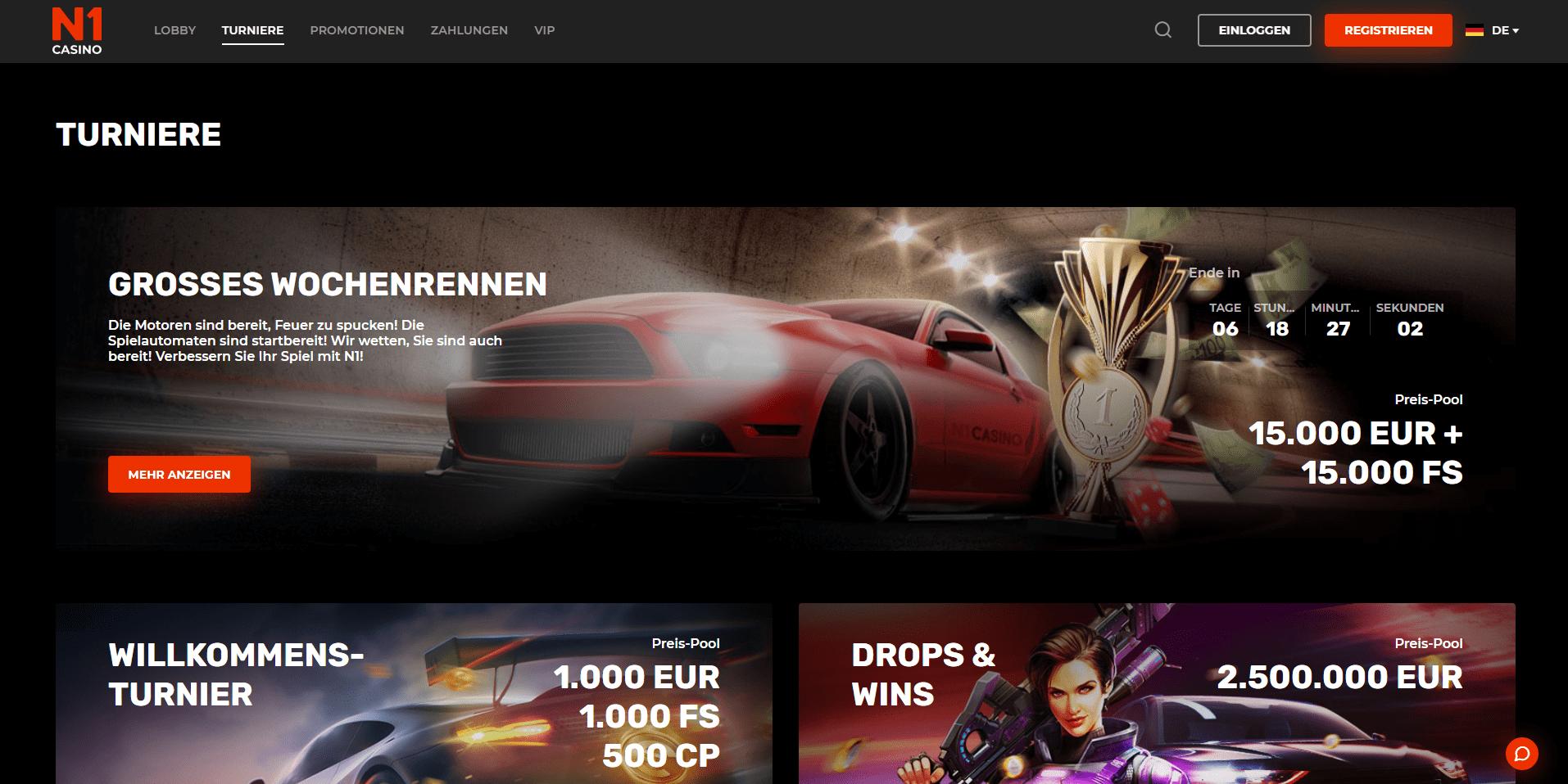 VIP-Club im N1 Casino