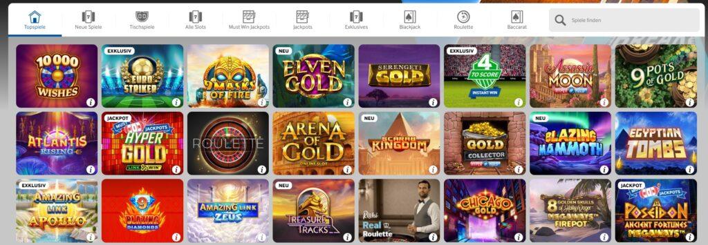 Betway Casino Spielen Topspielen